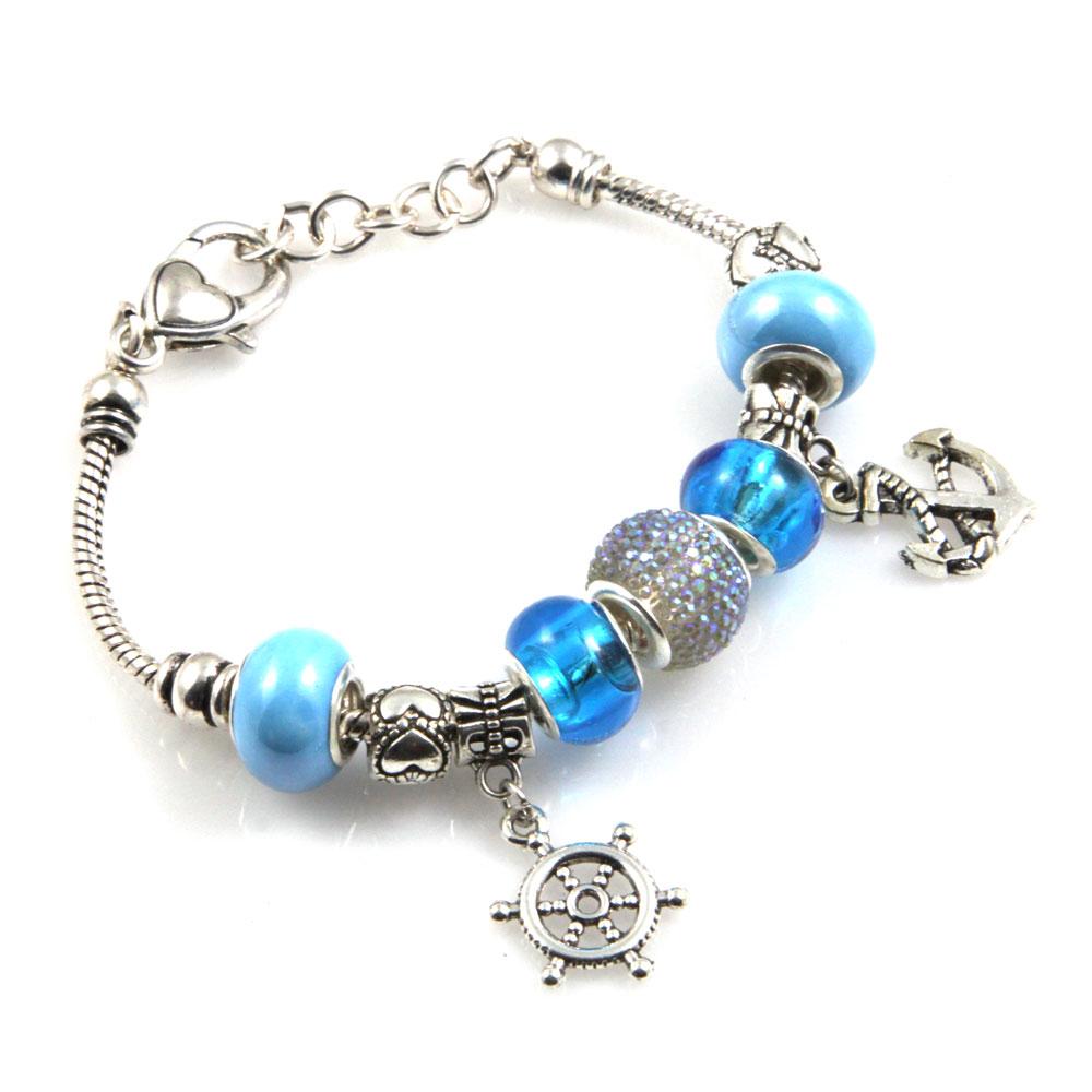 braccialetti donna pandora acciaio